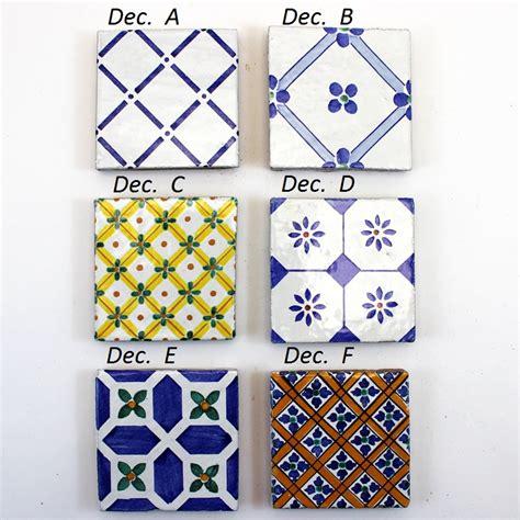 piastrella ceramica piastrelle ceramica caltagirone 10x10 retinate ceramiche