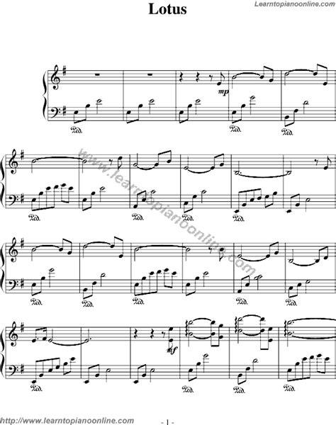 lotus notes tutorial pdf secret garden lotus free piano sheet learn how