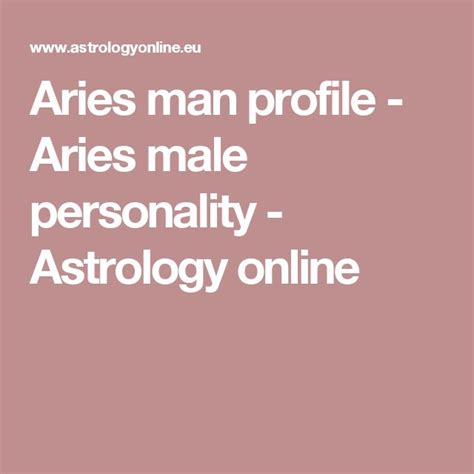 25 best ideas about aries male on pinterest