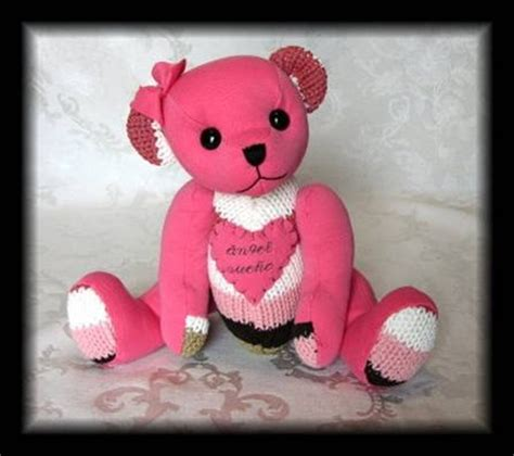 how to make a memory bear hidden treasure crafts and memory bears sewing pinterest memories bears and