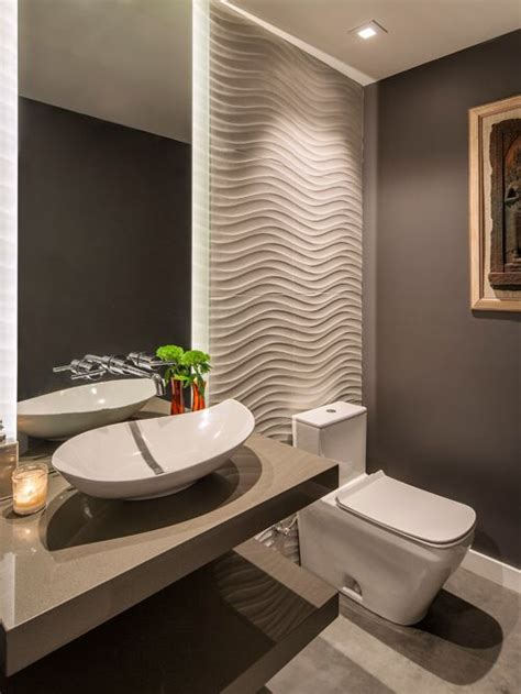 best contemporary powder room design ideas remodel - Modern Powder Room Ideas