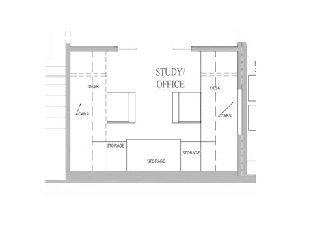 modern home office floor plans for a comfortable home