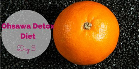 The 10 Ohsawa Detox Diets And What They Cure by Ohsawa Detox Diet Day 3