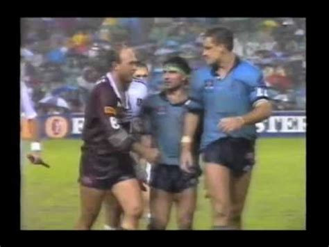 mark jackson rugby best of state of origin fights youtube