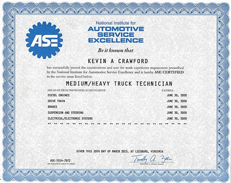 ase certificate template 28 images add item to cart