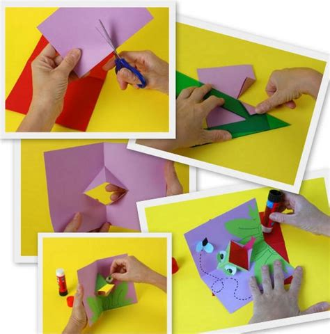 como realizar tarjetas para vender como hacer una tarjeta tarjetas de animales en 3d manualidades infantiles