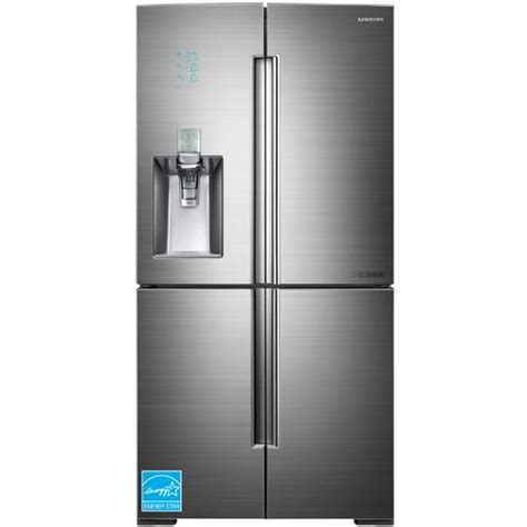 34 inch door refrigerator samsung 34 3 cuft chef series stainless steel 4 door