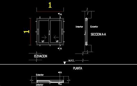 Sliding Glass Door Detail Marvellous Glass Sliding Door Detail Dwg Contemporary Plan 3d House Goles Us Goles Us