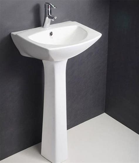 buy hindware pedestal basin neptune 55x46 without