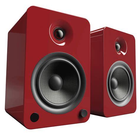 Speaker Crimson kanto living yu6 2 way powered bookshelf speakers yu6gr b h