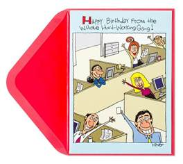 happy birthday from the office birthday cards papyrus