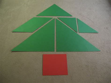 almost unschoolers christmas tangrams