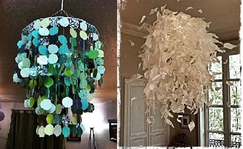 How To Make A Chandelier Out Of Paper - make chandelier out paper images