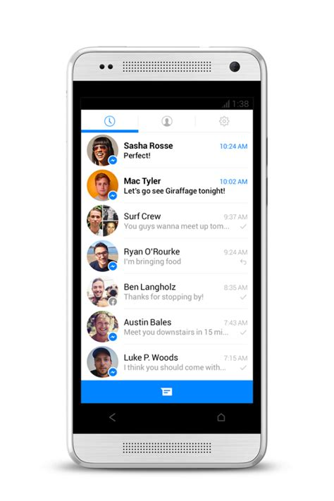 messenger for android sign up for messenger beta program here