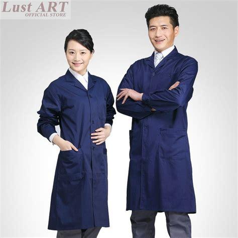 design lab coat men women navy blue new design lab coat fashion work nurse