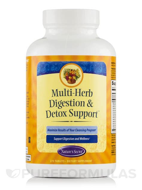 Multi Herb Digestion Detox Support by Multi Herb Digestion Detox Support 275 Tablets