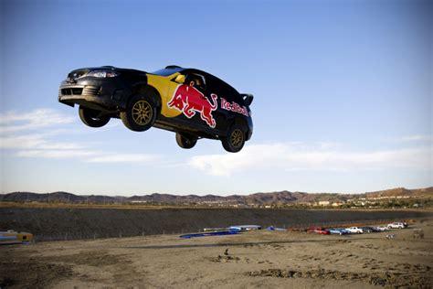 subaru rally jump pastrana s 269 foot jump shatters world record sti blog