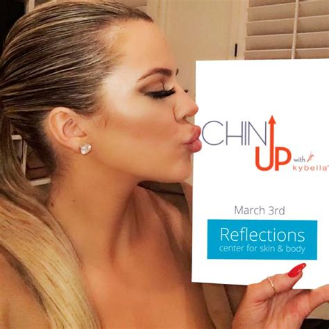 Why Do Some Never Find Live Chin Up Exclusive Pricing Now 999 Per Treatment Khloe Gets Real About