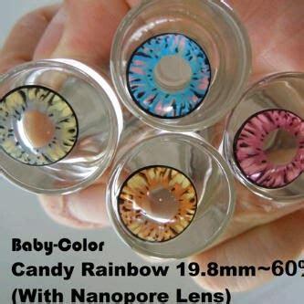 Softlens Dreamcolor Rainbow Normal Dan Minus softlens rainbow