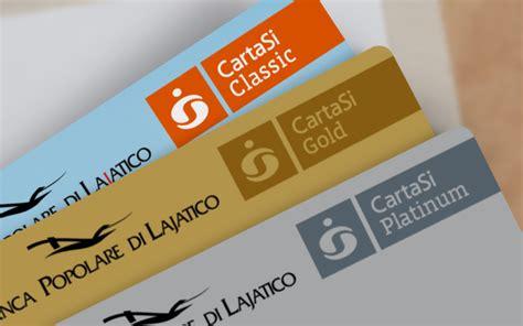 banco popolare carta di credito carte 187 popolare di lajatico