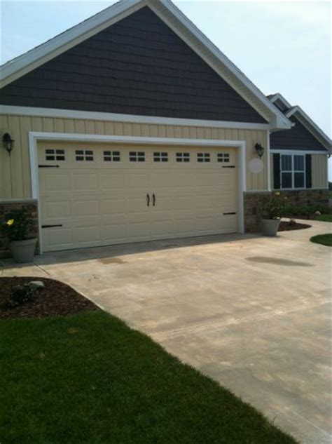 Garage Door Makeover A Diy Garage Door Makeover Hometalk
