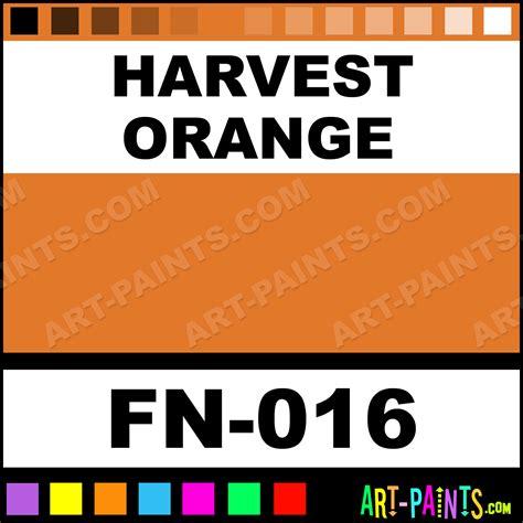 harvest orange foundations series 2000 ceramic paints fn 016 harvest orange paint harvest