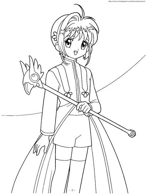az sakura coloring pages coloring home