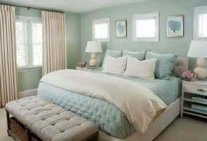gray is the best for home staging and selling for a fresh look in a bedroom