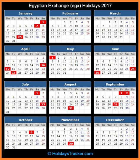 printable calendar 2015 egypt egyptian exchange egx holidays 2017 holidays tracker