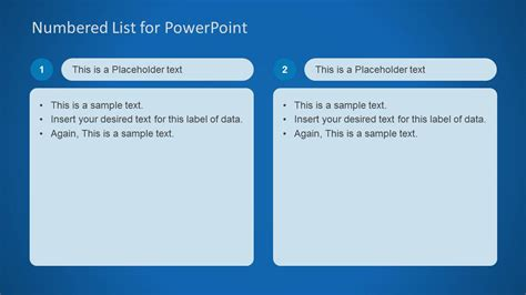 Numbered List Template For Powerpoint Slidemodel What Is A Template In Powerpoint