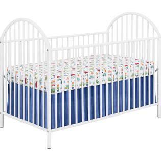 White Metal Baby Crib Dorel Home Furnishings White Metal Crib Baby Furniture