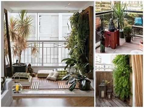decoracion de jardines con piedras y cañas decoracion de balcones y terrazas peque 241 as 99 ideas