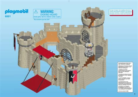 playmobil scheune bauanleitung building playmobil 6001 hawk knights