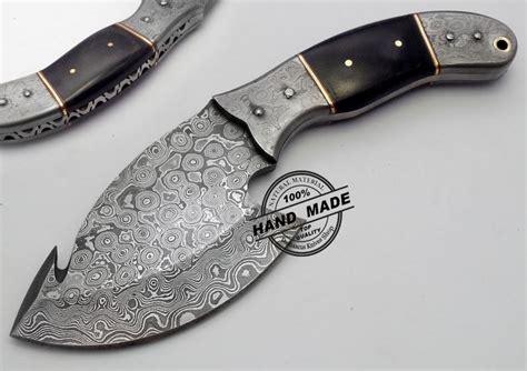 new knives new damascus skinner knife custom handmade damascus steel