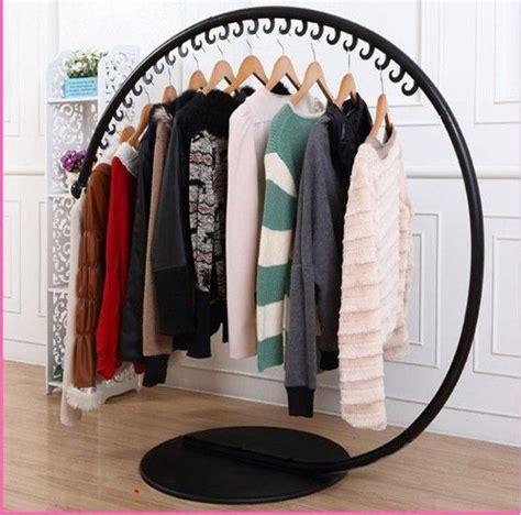 Baru 03 Multifunction Wardrobe Cloth Rack With wrought iron clothes hangers wrought iron clothes rack