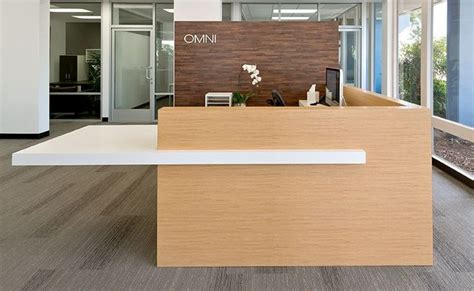 commercial reception desk omni pacific reception desk wilsonart laminate commercial