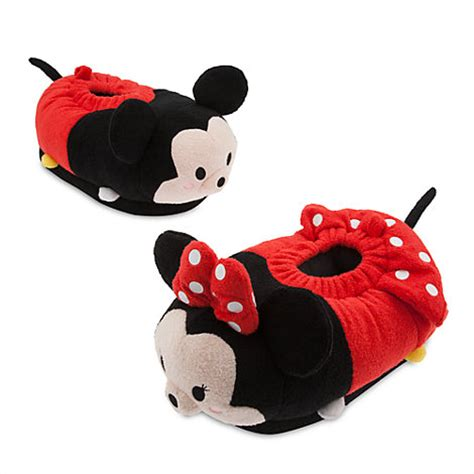 minnie mouse slippers minnie mouse tsum tsum s slippers