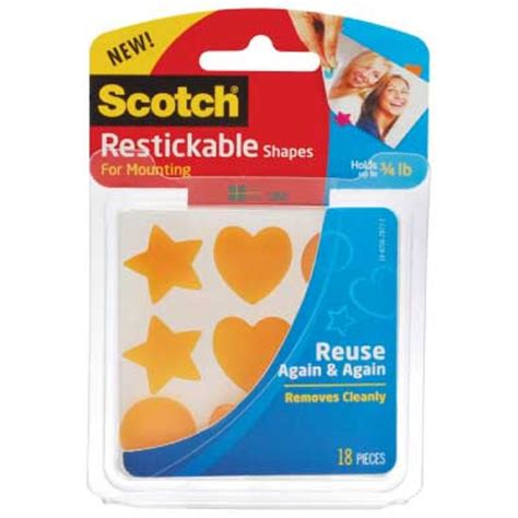 restickable wallpaper review scotch restickable shapes tabs and strips from 3m