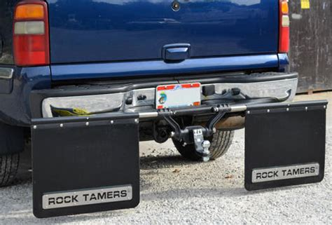 boat trailer mud flaps protect your trailer boat with rock tamers rock guards