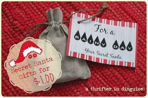 gifts for secret a thrifter in disguise secret santa saturday gifts for a