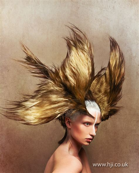 parrot hairstyle 2013 avant garde bird hair hairstyle hji