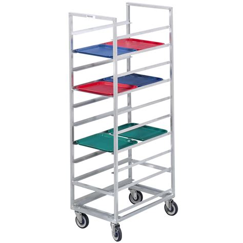 channel 439a 24 tray bottom load aluminum cafeteria tray