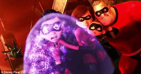 Elif Sarimbit Family 17 Violet the incredibles 2 trailer shows the superfamily with new