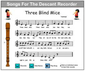 Blind Children Activities Three Blind Mice Music Skills Online Interactive