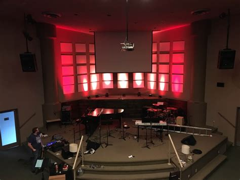 Lit Up by Lit Up Grid Church Stage Design Ideas