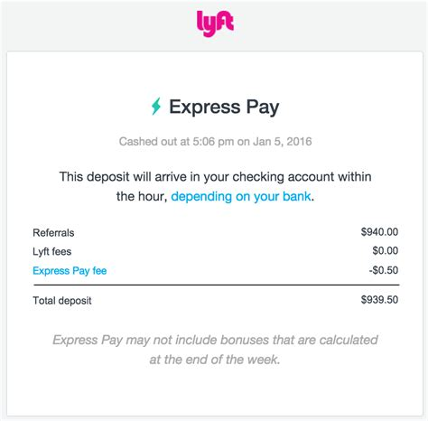 How Much Money Can You Win Before Paying Taxes - a review of lyft s new express pay feature
