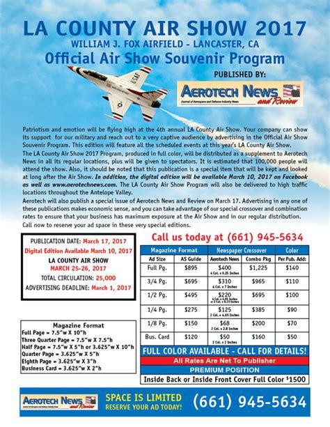 2017 la county air show program guide