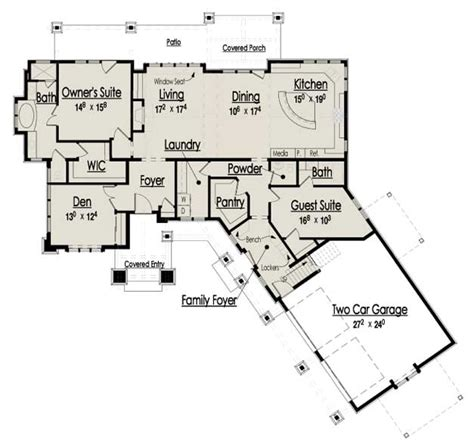 rustic house floor plans the cottage floor plans home designs commercial