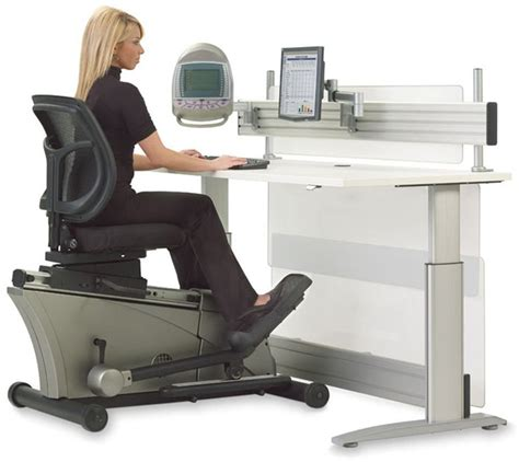 workout chair for office elliptical machine adjustable height desk the green