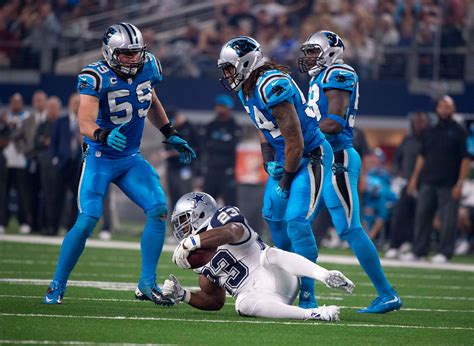 what color is carolina panthers blue how would you feel about the chargers in all powder blue